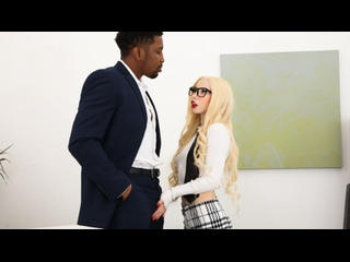 Kenzie Reeves - Office ASS Istants [2021, Teen, Blonde, Interracial, BBC, Petite, Small Tits, Hardcore, All Sex, 10808p HD]