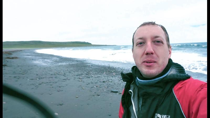 Омываю сапоги в Северном Ледовитом океане