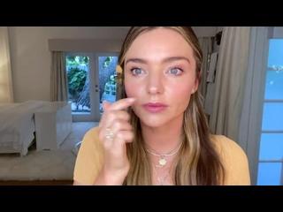 In My Bathroom_ Miranda Kerr's Fresh, Everyday Makeup