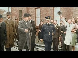 Вторая мировая война в цвете. Эпизод 3 из 13 «Оборона Британии / Наступление на Великобританию» (2009-2011)