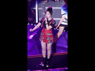 160806 JYP NATION 2016| Dahyun and Chae Young  rap [Fancam by Mera]