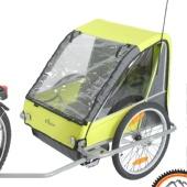 Прокат велоприцепа для 1-2х детей