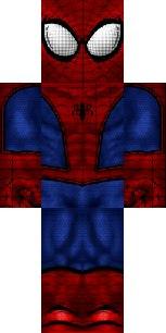 скины человеком пауков для майнкрафт #6
