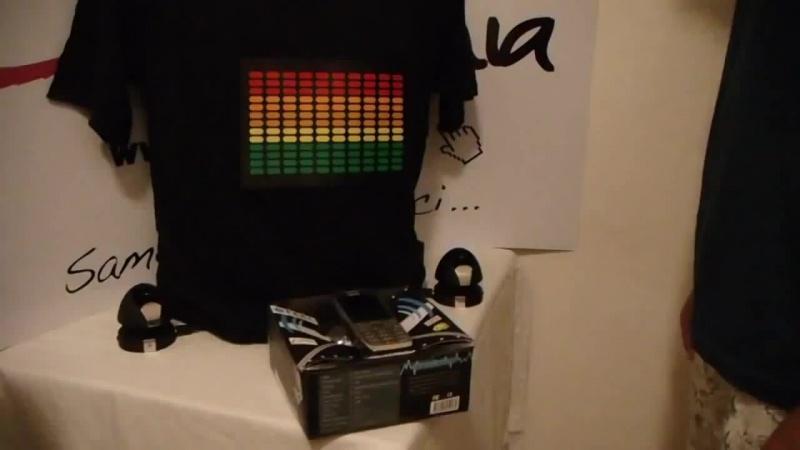 Музыкальная футболка эквалайзер - святящиеся футболка с эквалайзером_HD.mp4