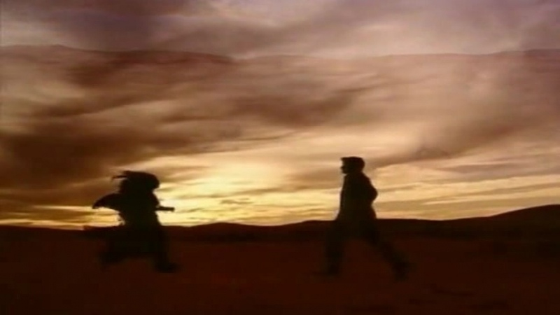 Klon final Lukas i Zhadi beguschie po pustyne skvoz goda