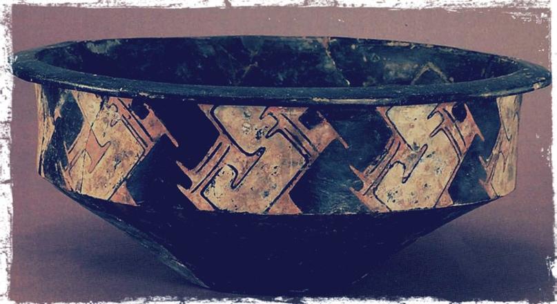 Расписная керамика. Культура Таоси-Луншань