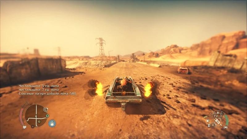Mad Max by z0c - На что способна м0я тачка в Mad Max, а также минус в0р0на!..))