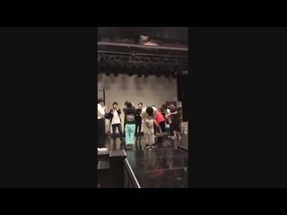 """[SNS] 181124 Твиттер @myname_jp: """"〔Чэджин〕Сегодня первое выступление Чэджина на мюзикле「Пинг-понг войны」❗️Спасибо большое за пис"""