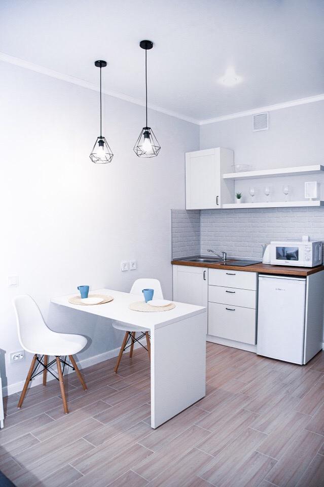 Экономный ремонт квартиры-студии 25 м в Новороссийске.