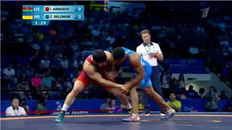 87кг за золота Islam ABBASOV AZE vs Zhan BELENIUK UKR ЖОТ Евроигры 2019