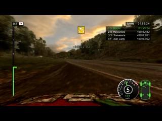 WRC #12 Испытание Honda Civic R3 #1 Rally Japan, Nikara 1