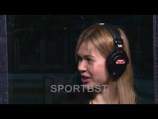 Анна Пругова оценивает соперника!