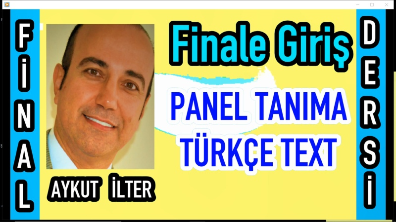 Finale 2011 giriş başlangıç ayarları yazı türkçe karakter ayarı nota yazma sayfası ayarları setup