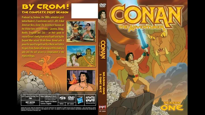 VHS Forever Конан Искатель приключений 1992 мультсериал