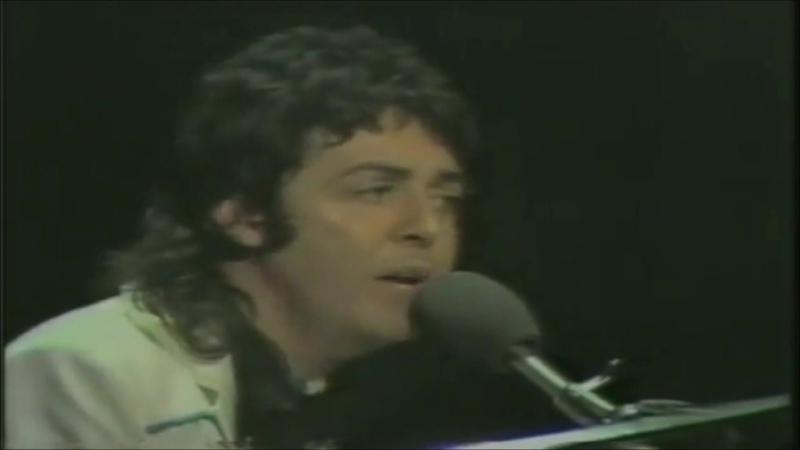 Paul McCartney and Wings Maybe I'm Amazed Paul McCartney TV Special Program 1973