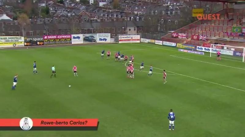 Роу Берто Карлос невероятный гол Дэнни Роу в матче против Эксетера