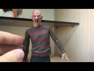 Обзор на фигурку Freddy Krueger от Neca_Розыгрыш