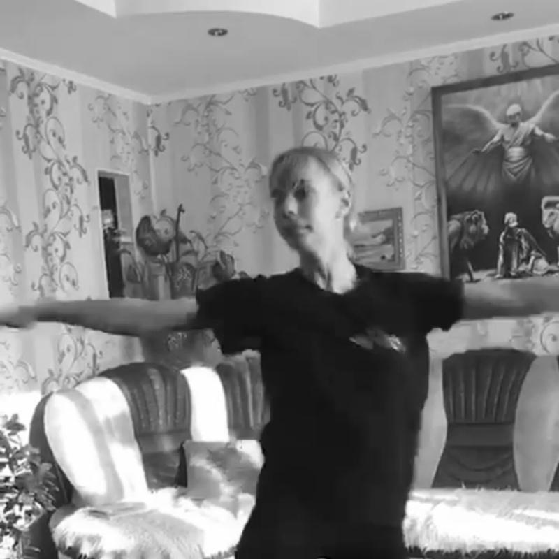 Онлайн-репетиция ансамбля народного танца «Счастливое детство»