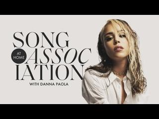 Данна Паола в игре Song Association