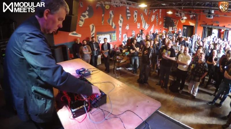Chris Carter Performance at Modular Meets Leeds 2017