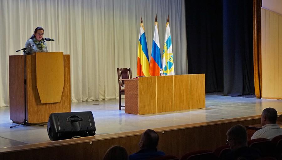 Глава города Таганрога Инна Титаренко отчиталась перед таганрожцами о работе в 2020 году