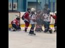 Драка у детей в хоккее