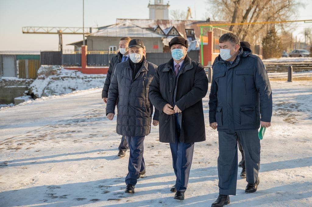 Губернатор Ростовской области Василий Голубев посетил Таганрог с рабочим визитом