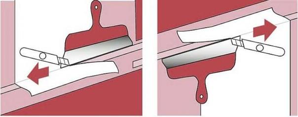 Как идеально ровно обрезать напуски обоев?