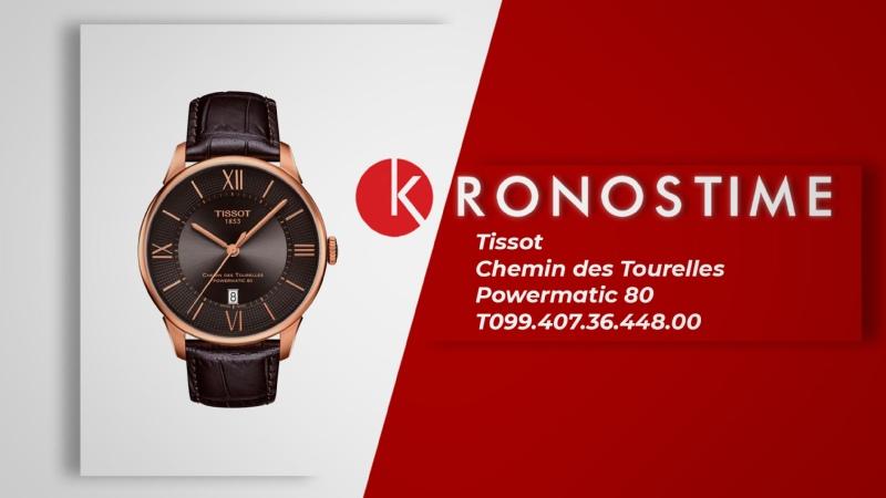 Обзор часов Tissot Chemin des Tourelles Powermatic 80 T099 407 36 448 00