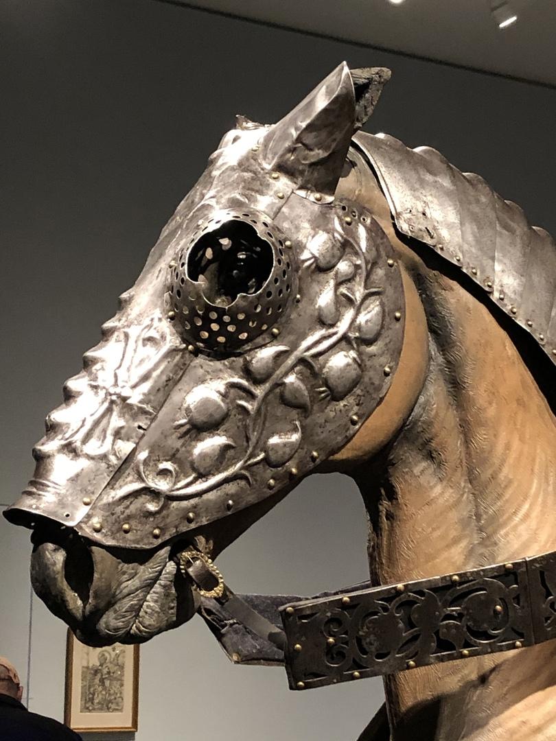 Деталь барда, подаренного Генриху VIII.