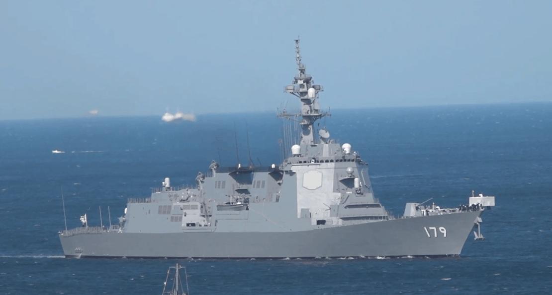 Эсминец ВМС Японии