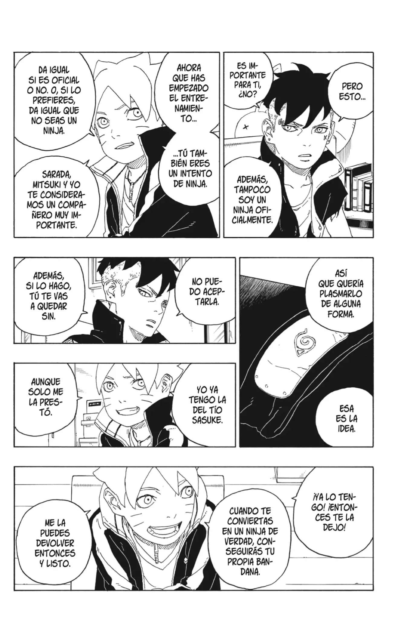 Boruto Manga Capitulo 60, image №32