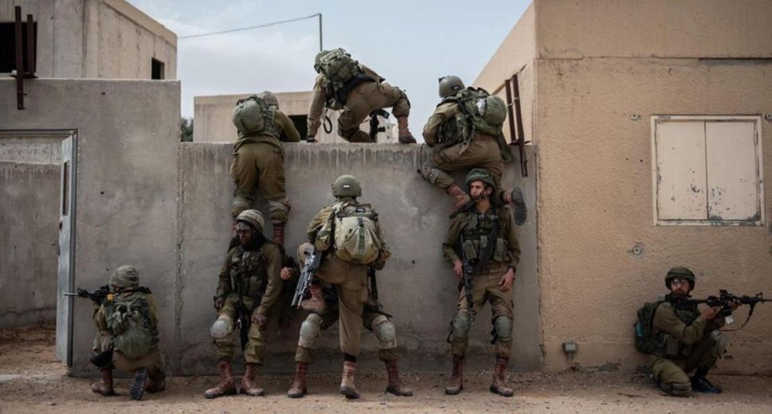 Израильские пехотинцы