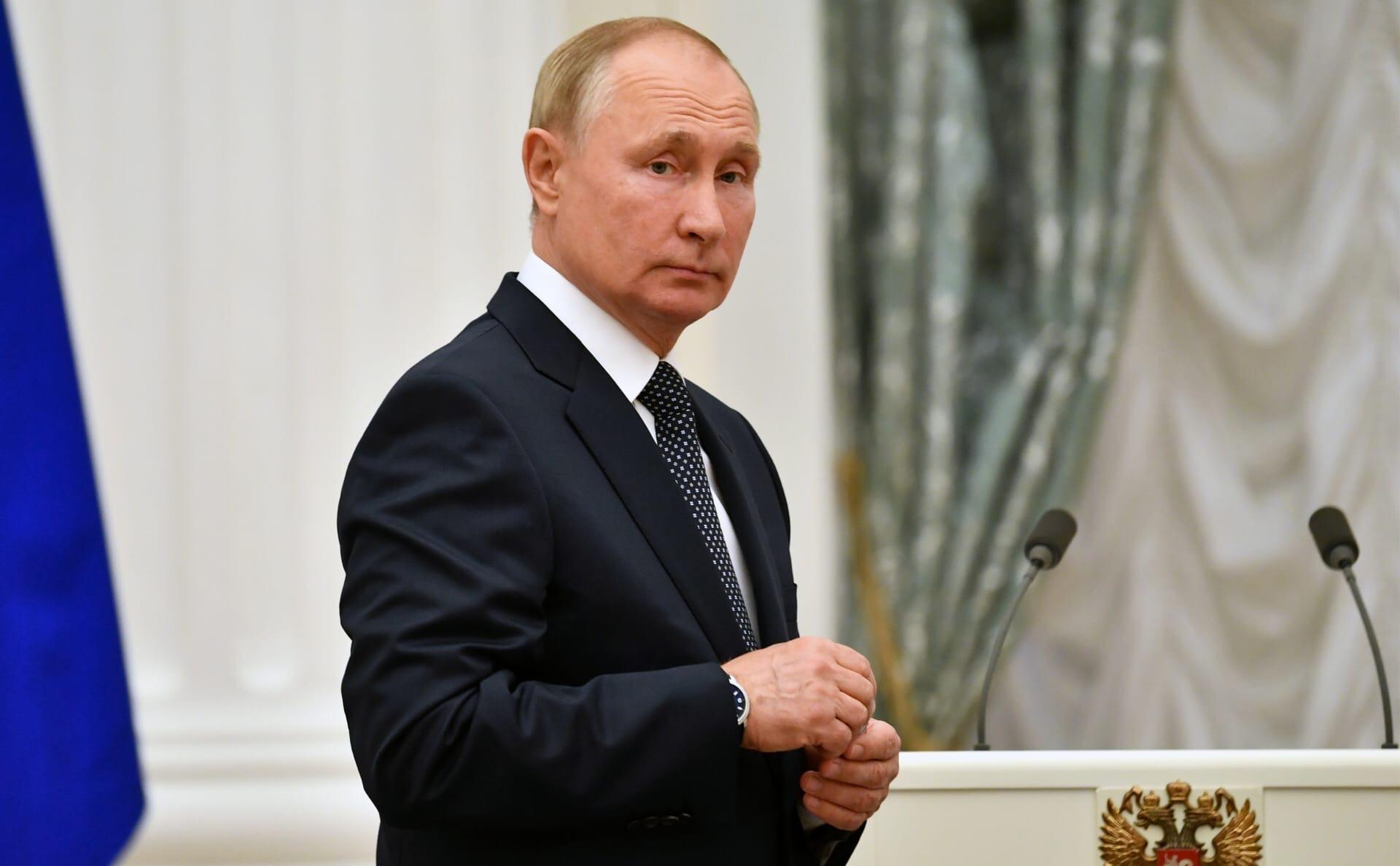 Сегодня президент России Владимир Путин празднует День