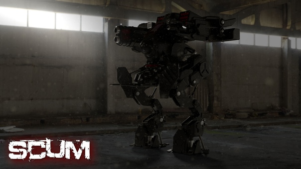 Security Mech from SCUM Game. Всеми...