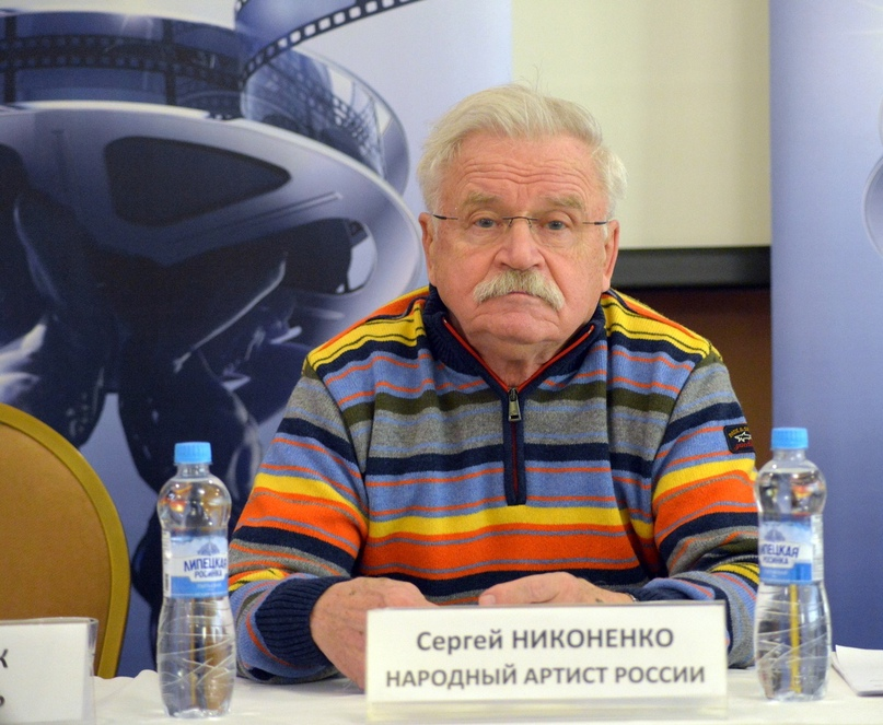 Член жюри кинофестиваля актер Сергей Никоненко
