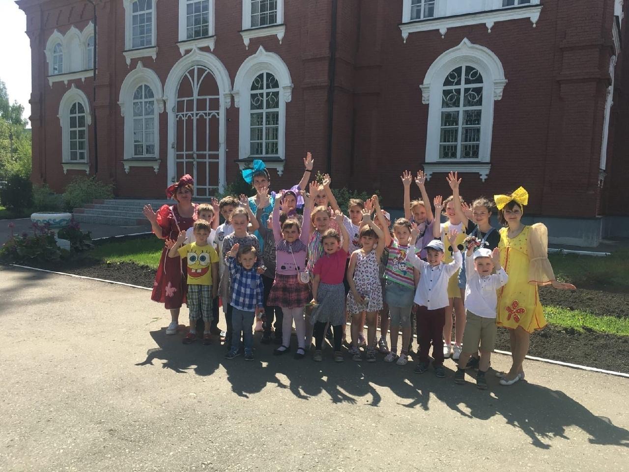 На территории Покровского храма прошёл детский праздник