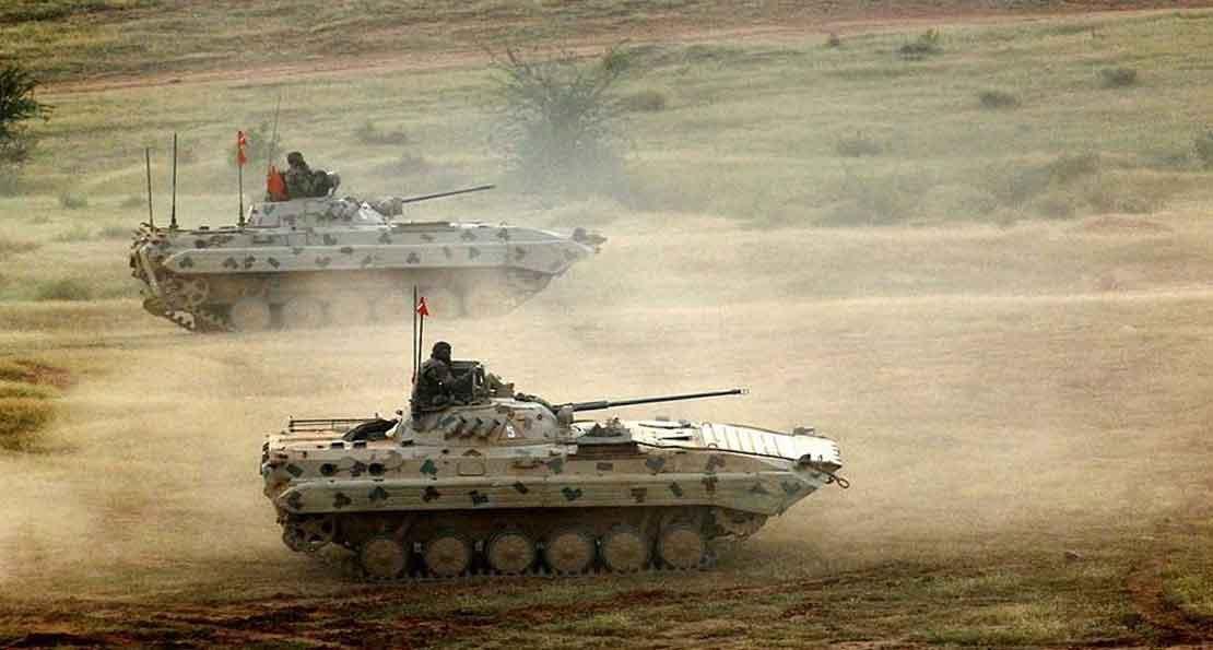 Индийские боевые машины пехоты