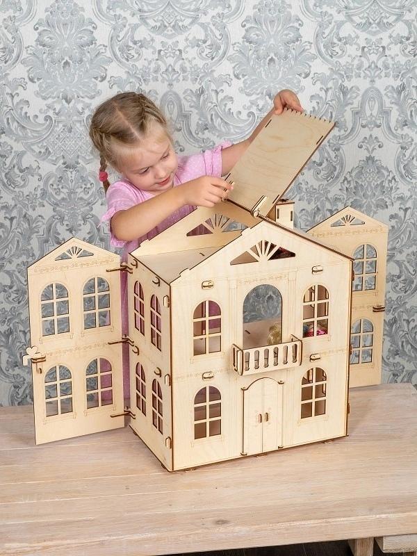 Кукольные домики для барби из дерева в Казани