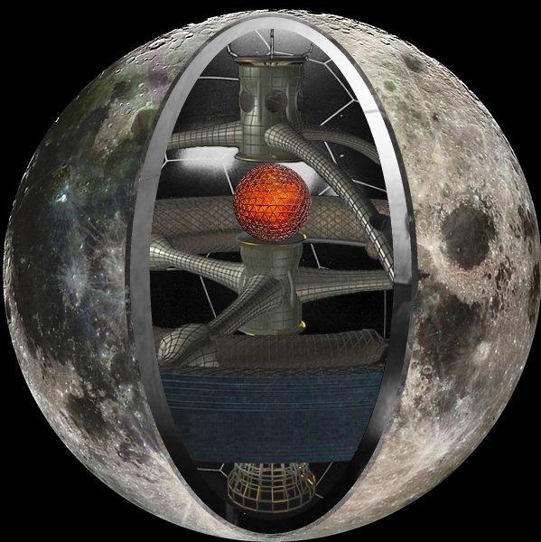 Луна - творение инопланетного разума, изображение №11