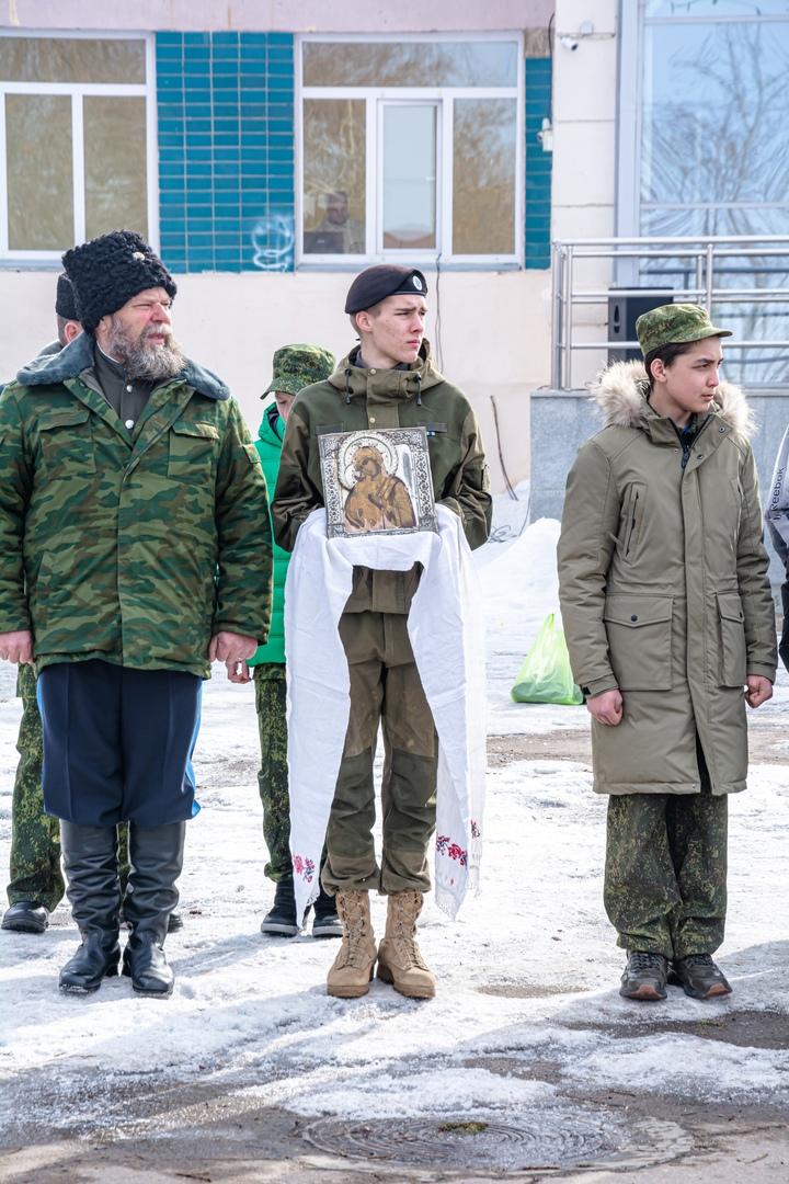 Уйские казаки и казачата провели военно-патриотическую игру, изображение №3