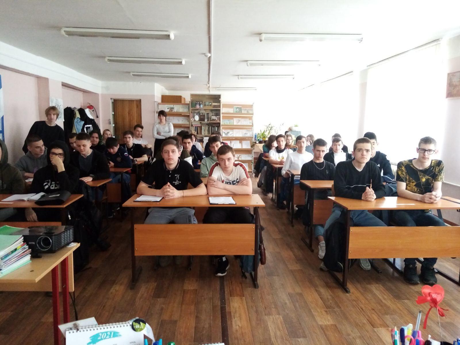 На отделении программ подготовки квалифицированных рабочих, служащих в рамках предметной недели по химии прошло мероприятие