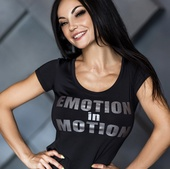 Футболка Bona Fide T-Shirt Motion Black