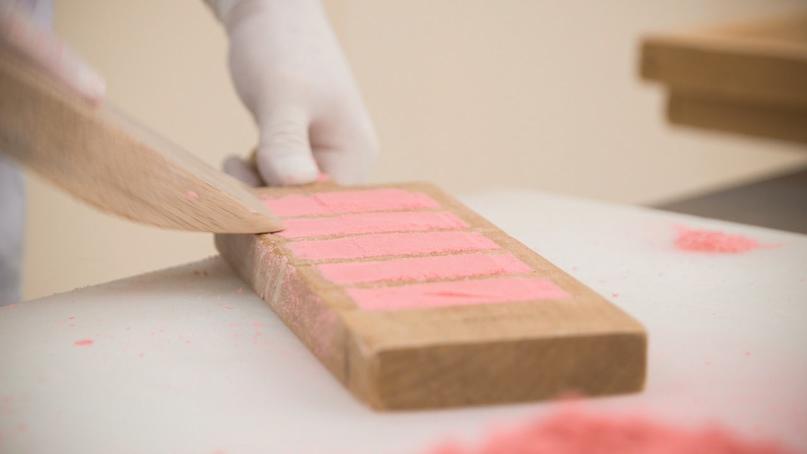 Японские деревянные резные формы Кашигата, изображение №4