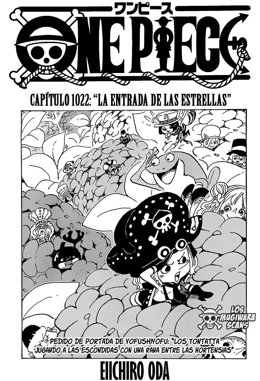 One Piece Capitulo 1022, image №1