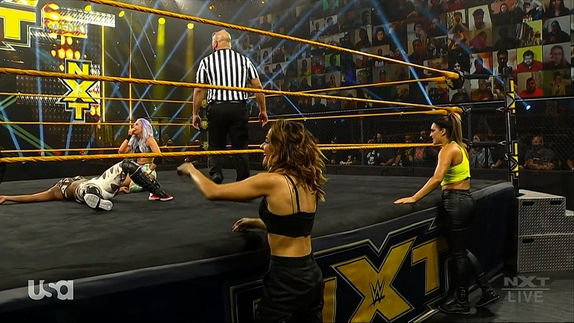 AEW Dynamite и NXT 25.11.20, изображение №11