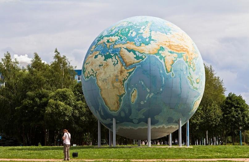 Самый большой глобус в Европе 🌍
