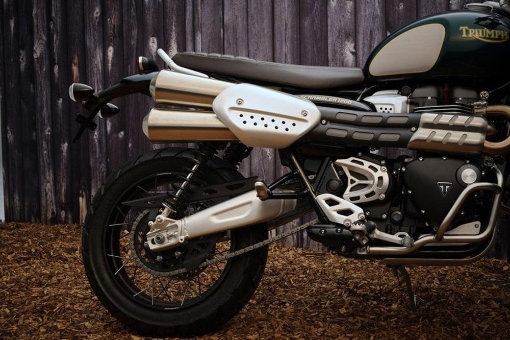 Мотоцикл Triumph Scrambler 1200 XE Steve McQueen Edition