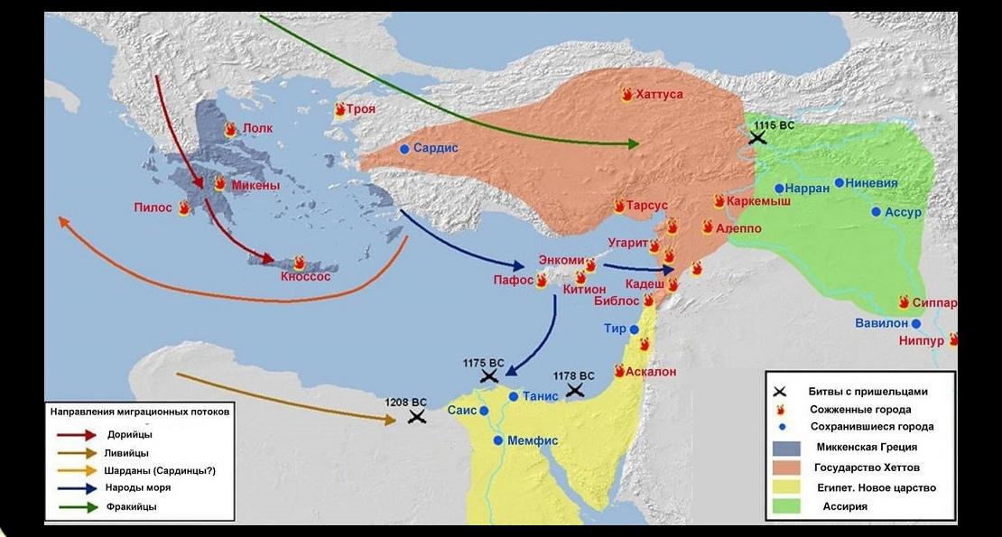 Вторжение дорийцев