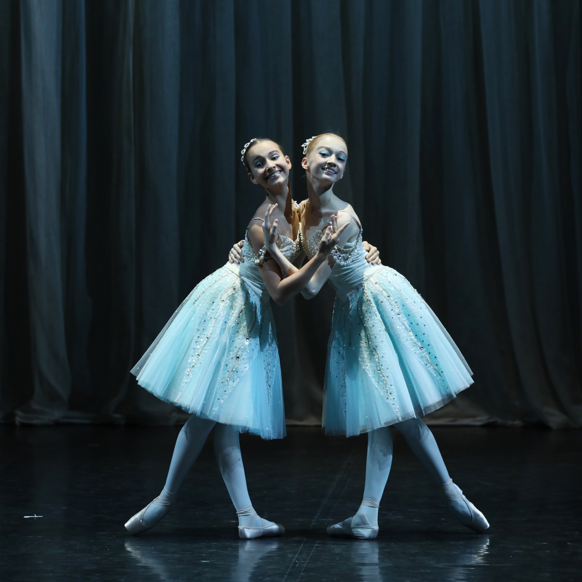 "Двойка жемчужин из балета ""Конёк-Горбунок""."